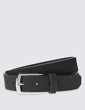 Faux Suede Formal Belt