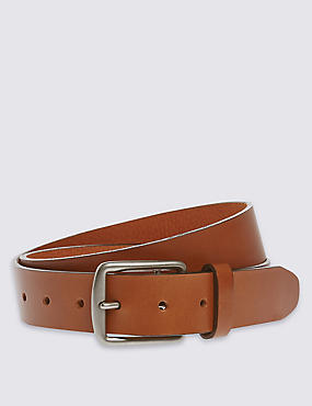 Saddle Edge Leather Belt