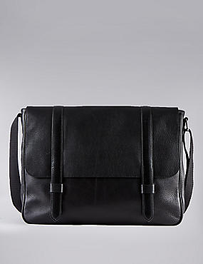 Luxury Leather Dispatch Bag