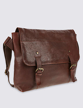 Leather Stud Dispatch Bag
