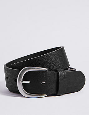 Denim Buckle Belt
