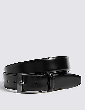 Coated Leather Active Waistband Belt