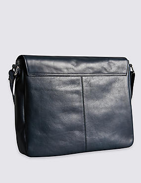 Leather Dispatch Messenger Bag