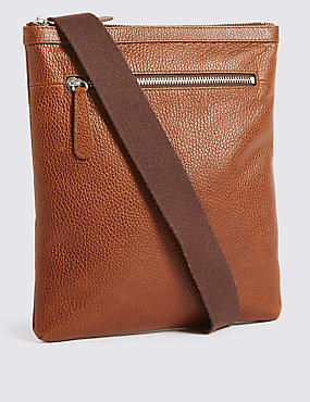 Rambler Leather Slim Crossbody Bag