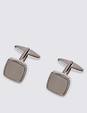 Brushed Square Cufflinks
