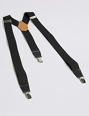 Adjustable Braces, BLACK, catlanding