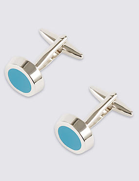 Solid Circle Cufflinks