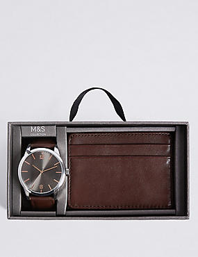 Watch & Wallet Gift Set