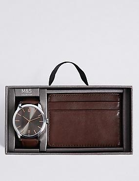Watch & Wallet Gift Set, , catlanding