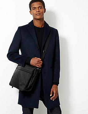 Scuff Resistant Cordura® Messenger Bag, , catlanding