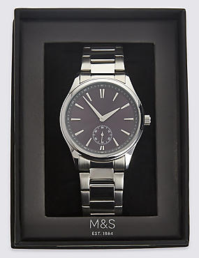 Classic Metal Bracelet Watch