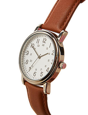 Round Face Utility Watch