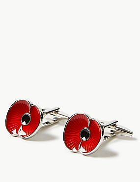 The Poppy Collection® Cufflinks, , catlanding