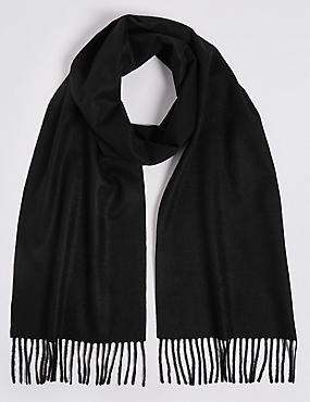 Pure Cashmere Woven Scarf