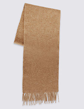 Mens Pure Wool Scarf