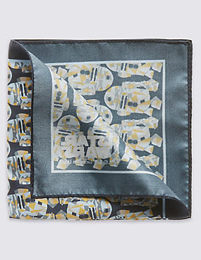 Star Wars™ Pure Silk Watercolour Handkerchief