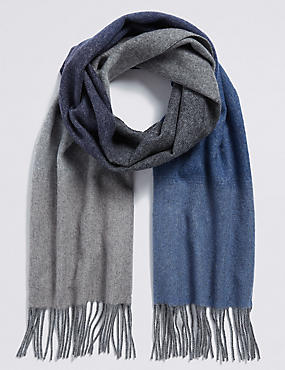 Ombre Extra Fine Wool Scarf