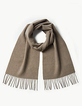 Brushed Woven Scarf, MOLE, catlanding
