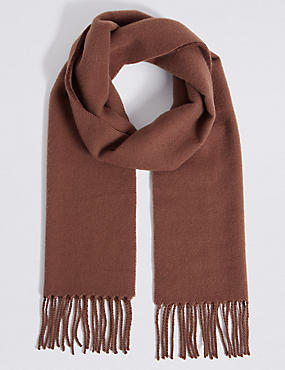 Brushed Woven Scarf, , catlanding