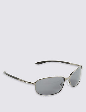 Oval Polarised Sunglasses