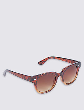 Modern Graduated D Frame Sunglasses
