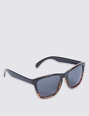 Graduated D Frame Sunglasses