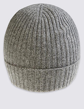 Pure Cashmere Knitted Hat