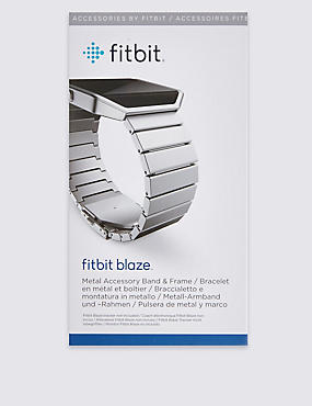 Fitbit Blaze Metal Links Band and Frame