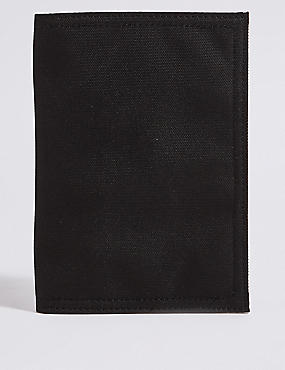 Large Popper Bi Fold Travel Wallet with Cardsafe™, , catlanding