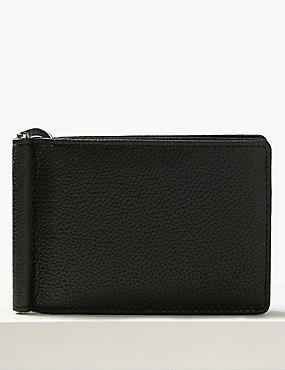 Leather Bi Fold Wallet  with Cardsafe™, , catlanding