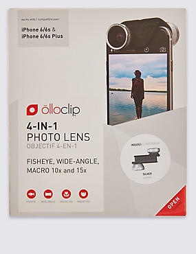 4-in-1 Lens for iPhone 6/6s & 6/6s Plus