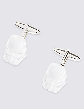 Star Wars™ Stormtrooper Mop Cufflinks
