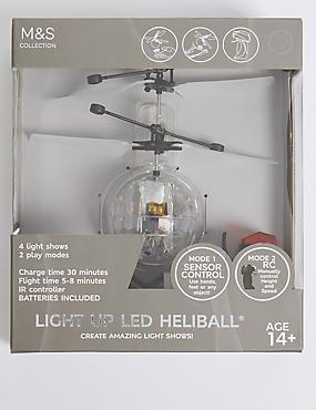 Light Up UFO Heliball, , catlanding