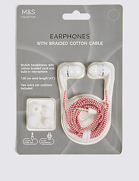 In-Ear Earphones, RED, catlanding