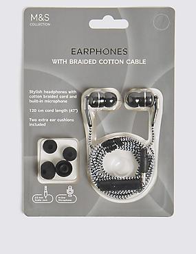 In-Ear Earphones, BLACK, catlanding