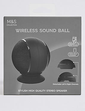 Wireless Sound Ball, , catlanding