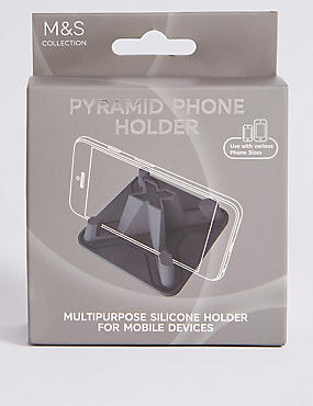 Pyramid Phone Holder, , catlanding