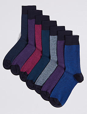 7 Pack Cool & Freshfeet™ Assorted Socks