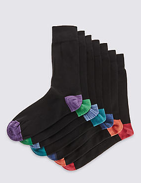 7 Pairs of Cool & Fresh™ Design Socks
