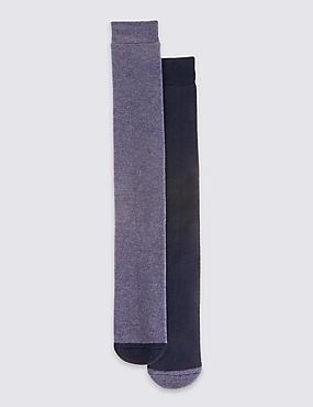 2 Pack Ultraheat Thermal Socks, BLUE MIX, catlanding