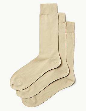 3 Pairs of Luxury Cotton Socks