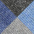 4 Pack Cotton Blend Freshfeet™ Socks, BLUE MIX, swatch