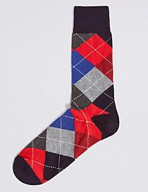 Cotton Rich Socks
