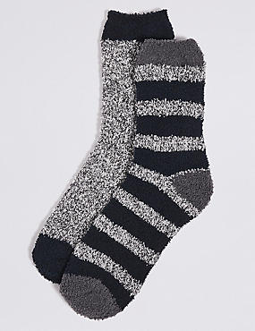 2 Pairs of Assorted Bed Socks