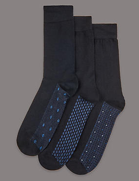 3 Pack Design Socks
