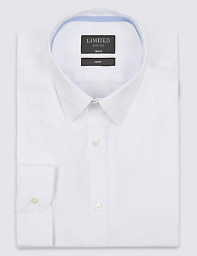 Easy to Iron Slim Fit Shirt with Stretch