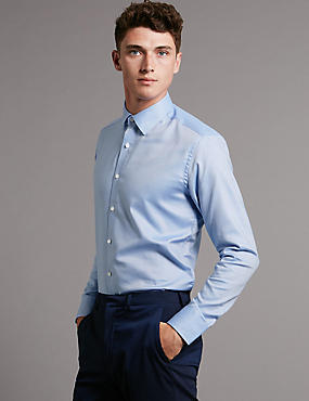 Mens Big Tall Formal Shirts Plus Size For Men M S