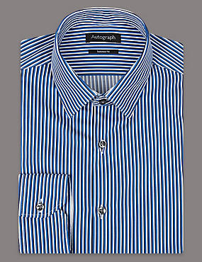 Supima® Pure Cotton Striped Shirt