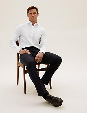 Ultimate Pure Cotton Slim Fit Twill Shirt