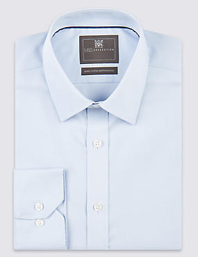 2in Shorter Pure Cotton Regular Fit Shirt